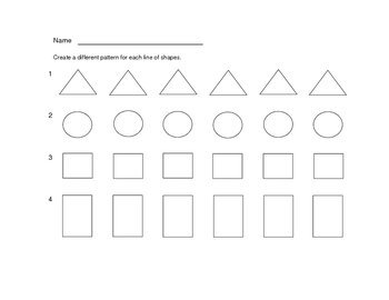 Shape Patterns Quiz