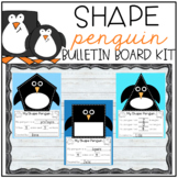 Shape Penguin Bulletin Board Kit