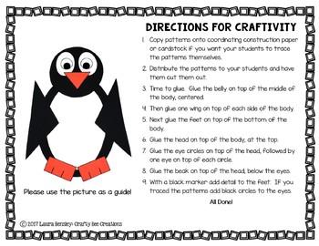 Penguin Craft {Shape Penguin}