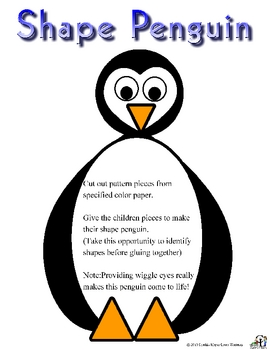 Shape Penguin  Pattern