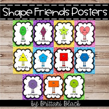 Shape People Posters