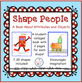 Shape People - A Book of Shape Attributes and Objects