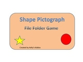 Shape Pictograph File Folder Game
