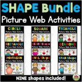 Shape Picture Web Activities Bundle