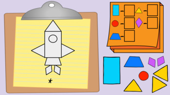 Shape Pictures Clipboards - August Center (in Google: Digital and Interactive)