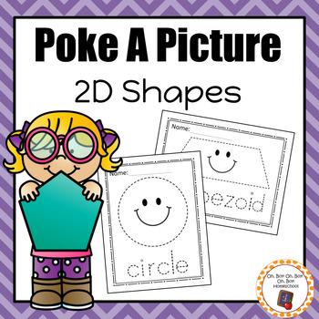 Shape Pinning: Poke A Picture