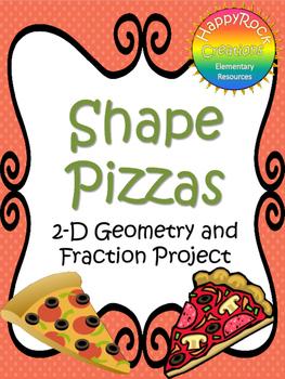 Shape Pizzas - Fraction Project