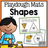 Shape Playdough Mats