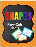 Shape Play Doh Mats