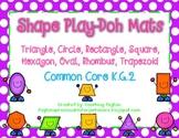 Shape Play-Doh Mats - (8 Shapes) K.G.2, K.G.5