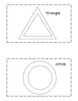 Shape Play-doh Book and Mats