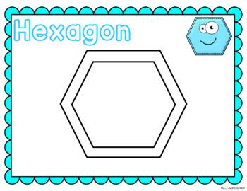 Shape Playdough Mats (2-D Shapes)