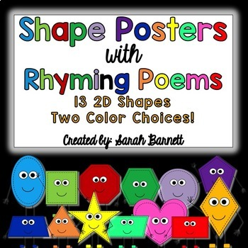 Shape Poem Posters!