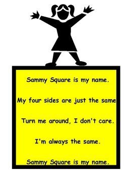 Shape Poems Mini Posters