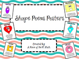 Shape Poems Posters!