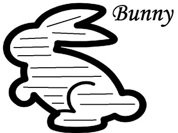 Shape Poetry- Bunny