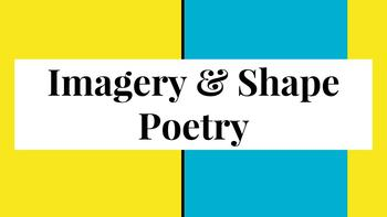 Shape Poetry Lesson: PDF Presentation