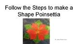 Shape Poinsettia