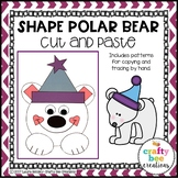 Polar Bear Craft {Shape Polar Bear}