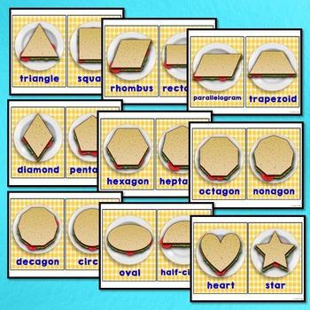 Math Classroom Decor (Shapes Posters)