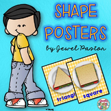 Math Classroom Decor (Shapes Posters)