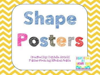 Shape Posters 2D