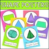 Shape Posters - 2D & 3D