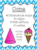 Shape Posters 2D & 3D Chevron Theme