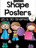 Shape Posters-2D & 3D shapes-Black series {Chinese Version}