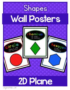 Shape Posters 2D -  Colorful