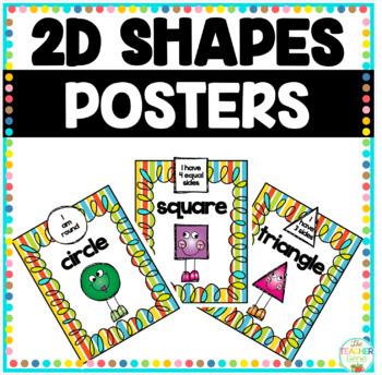 Shape Posters - 2D Shapes