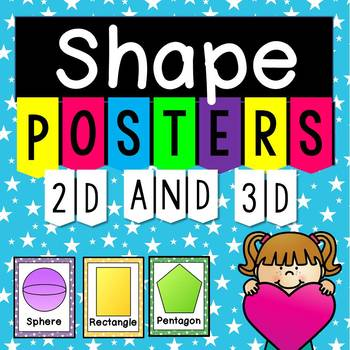 Shape Posters (2D and 3D)