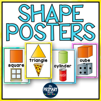 Shape Posters 2D and 3D