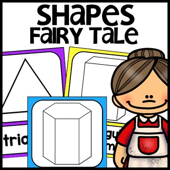 Shape Posters 2d and 3d | FAIRY TALE THEMED