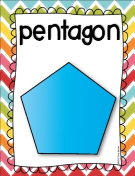 Shape Posters {3 Dimensional & 2 Dimensional}