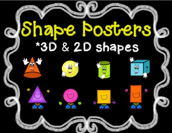 Shape Posters 3D & 2D