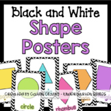 Shape Posters (Black and White)