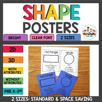 Shape Posters Black and White