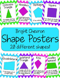 Shape Posters - Bright Chevron