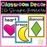 Shape Posters {Bright Polka Dots}