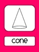 Shape Posters:  Brights {2 and 3 dimensional}