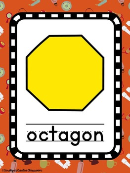Shape Posters - Camping Theme