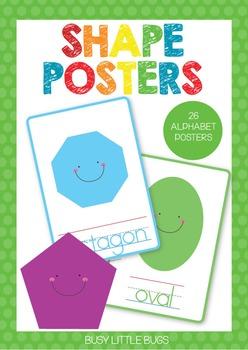 Shape Posters - Classroom Decor