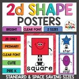 Basic 2d Shape Posters