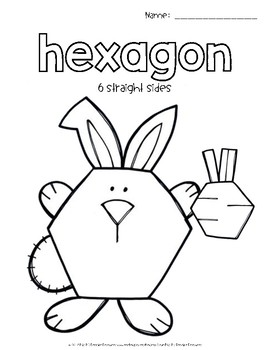 Shape Posters & Coloring Pages