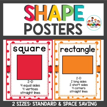 Shape Posters Confetti themed