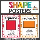 Rainbow Confetti Classroom Decor Shape Posters