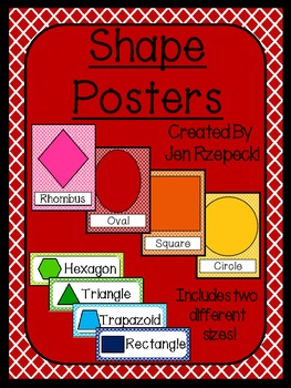 Shape Posters-Criss Cross Borders