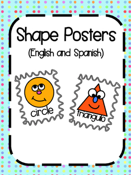 Shape Posters (English and Spanish)