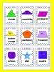 Shapes Poster Set~ Happy Shapes~ 2D/Plane Shapes